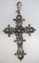 Lg. Sterling Cross Sgnd. Foree