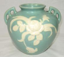 Weller Cameo Rose Pottery Vase