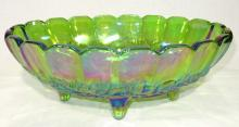 Carnival Glass Fruit Bowl