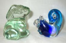 Rabbit & Squirrel Paperweights