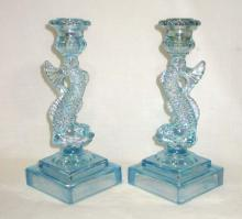 Pr Imperial Dolphin Candlesticks