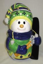 Snow Boy Cookie Jar