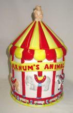 Nabisco Carousel Cookie Jar