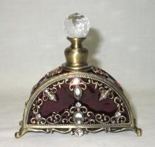 Jeweled & enameled Perfume Bottle