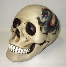 Porcelain Skull Bank