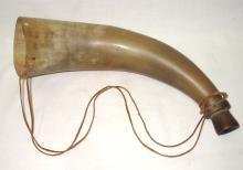 Early Fox Hunting Steer Horn