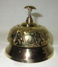 Modern Brass Hotel Bell