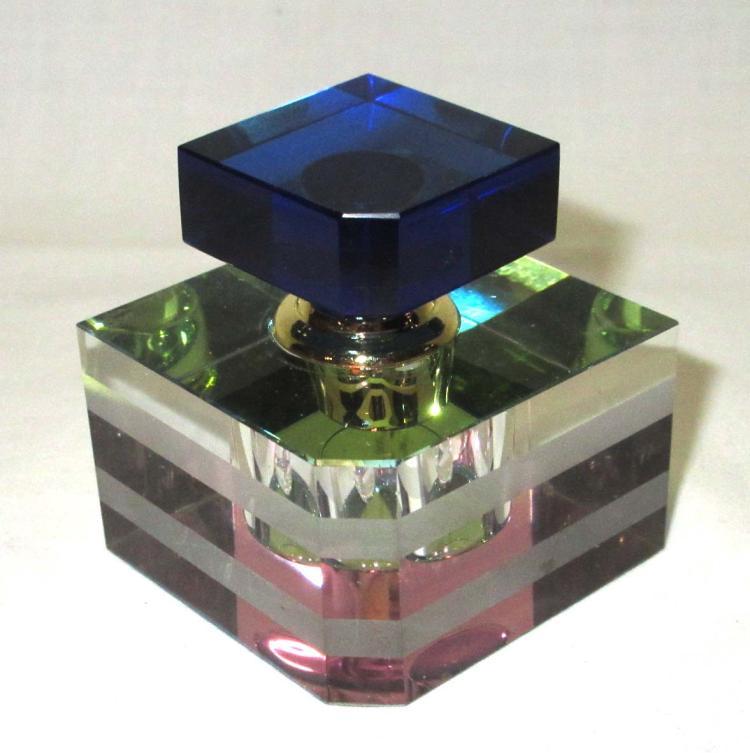Multi Colored Perfume Bottle