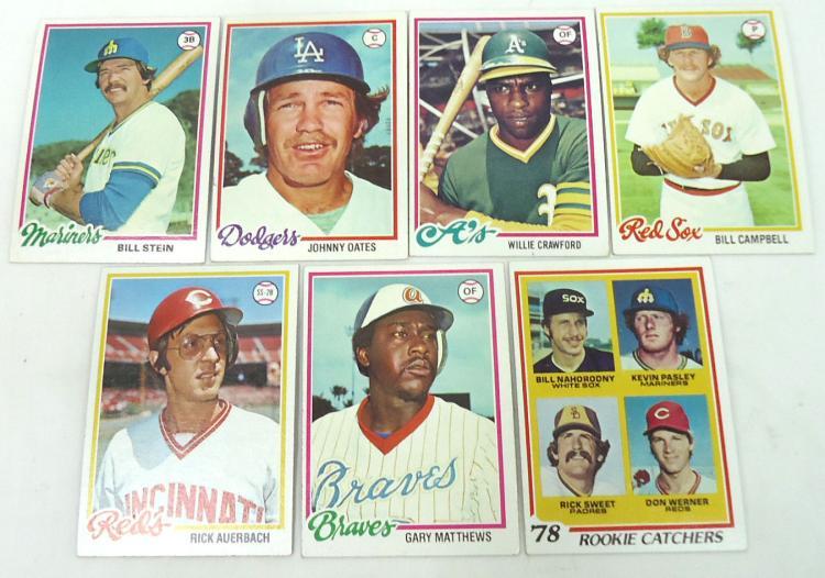 35 1978 Topps Baseball Cards