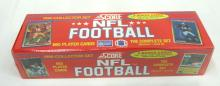 Sealed Box 1990 Score Set Football Cards