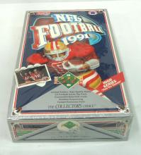 Sealed Box 1991 Upper Deck Football Cards
