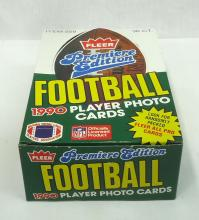 Box 1990 Fleer Football Cards