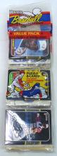 (5) 1987 Donruss Rack Packs