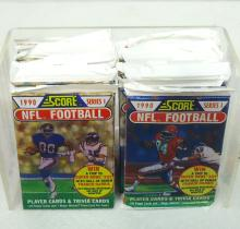 15 Packs 1990 Score Football Cards