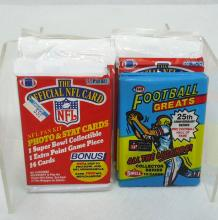 13 Packs 1988 & 1989 Football Cards