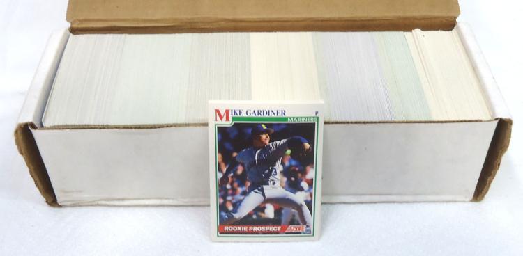 Box 1991 Score Baseball Cards