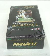 Sealed Box Pinnacle Baseball Cards