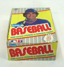 Box 1989 Fleer Baseball Cards