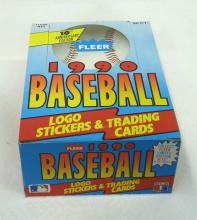 Box 1990 Fleer Baseball Cards