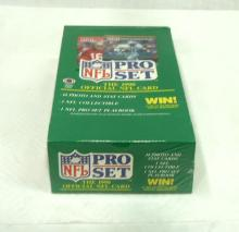 Sealed Box 1990 Pro Set Football Cards