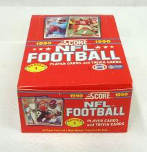 Box 1990 Score Football Cards