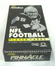 Box 1991 Pinnacle Football Cards