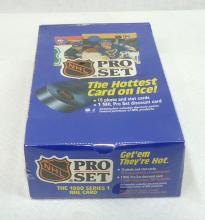 Sealed Box 1990 Pro Set Hockey Cards