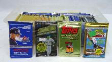 60+ Packs Various Baseball Cards