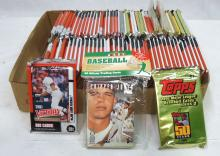 75+ Packs Various Baseball Cards