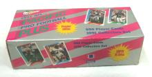Sealed Box 1991 Pacific Plus Football Cards