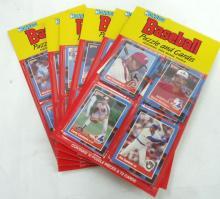 6 Rak Paks 1988 Donruss Baseball Cards