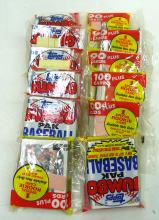 6 Topps Jumbo Paks 1989 Baseball Cards
