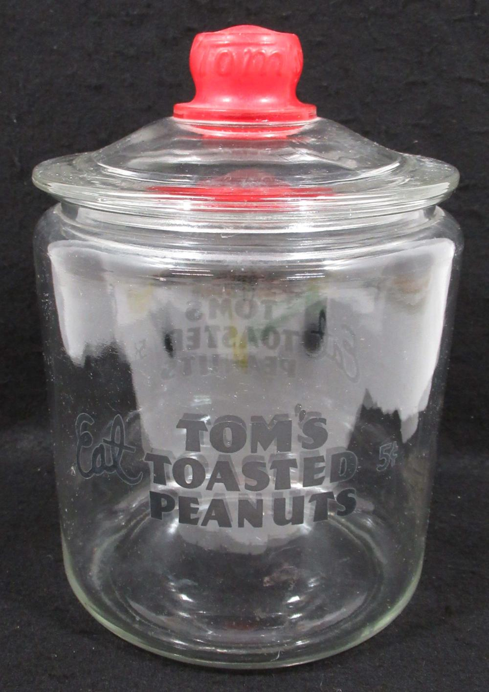Tom's Peanut Store Jar