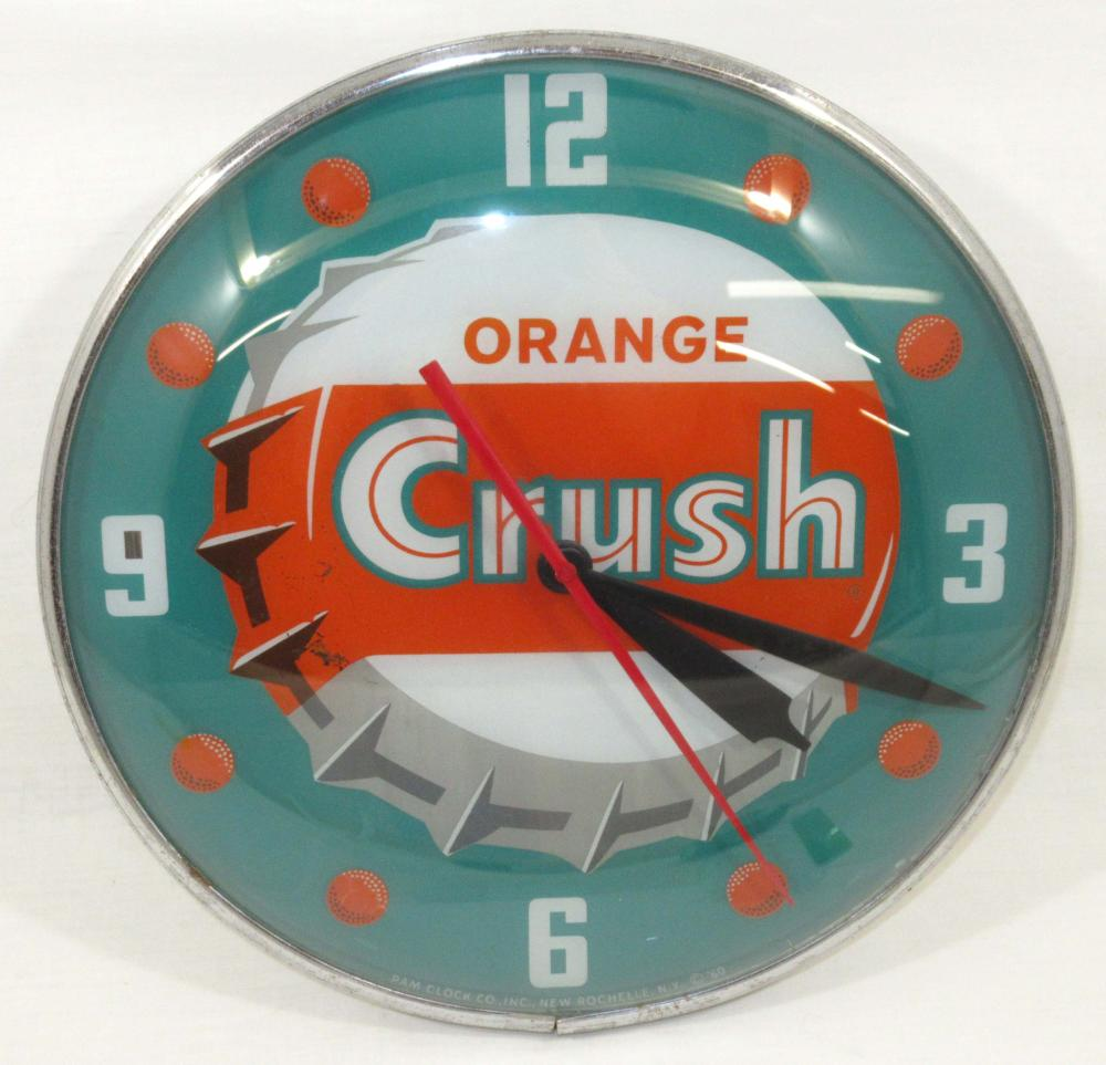 Orange Crush Clock