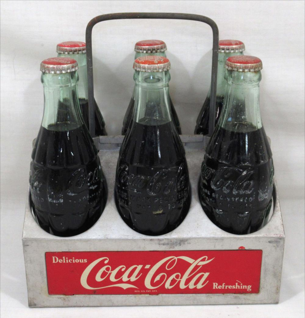 Coca Cola Metal Carrier