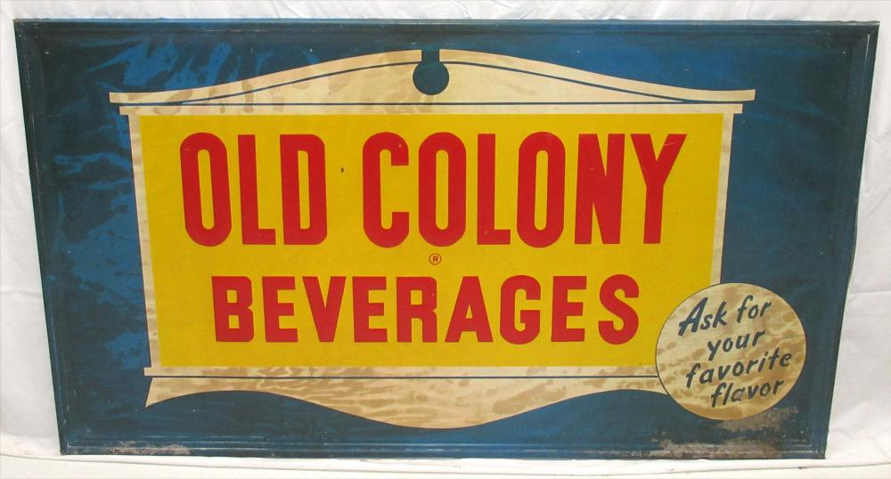 Old Colony Beverages Sign