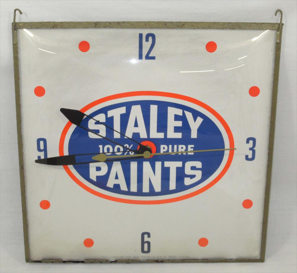 Staley Paint Clock