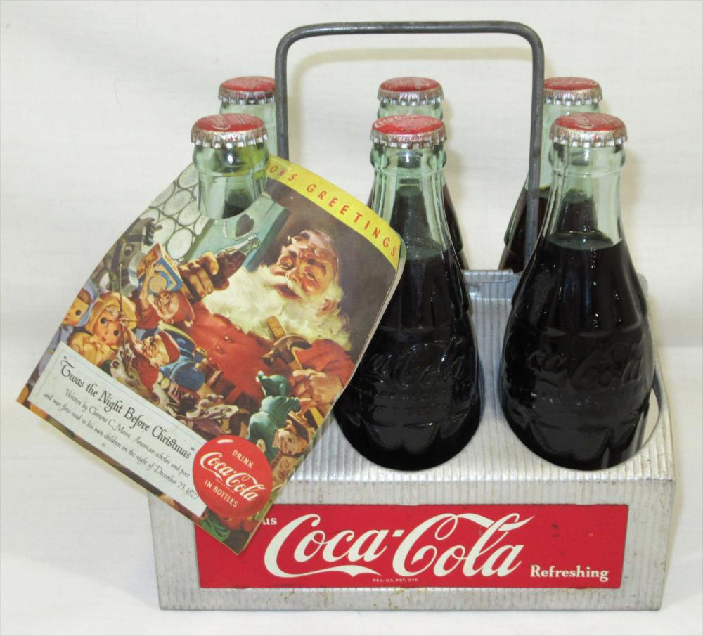 Metal Coca Cola Carrier