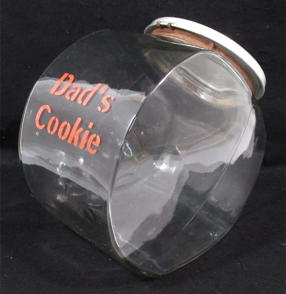 Dad's Cookie Store Jar