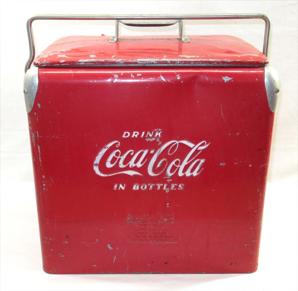 Coca Cola Cooler & Box
