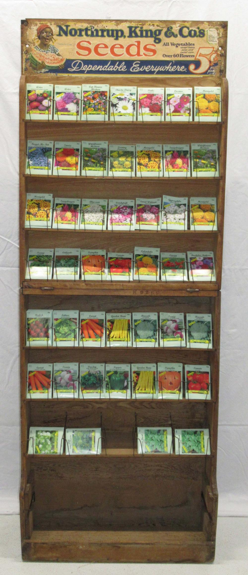 Northrup Garden Folding Seed Rack