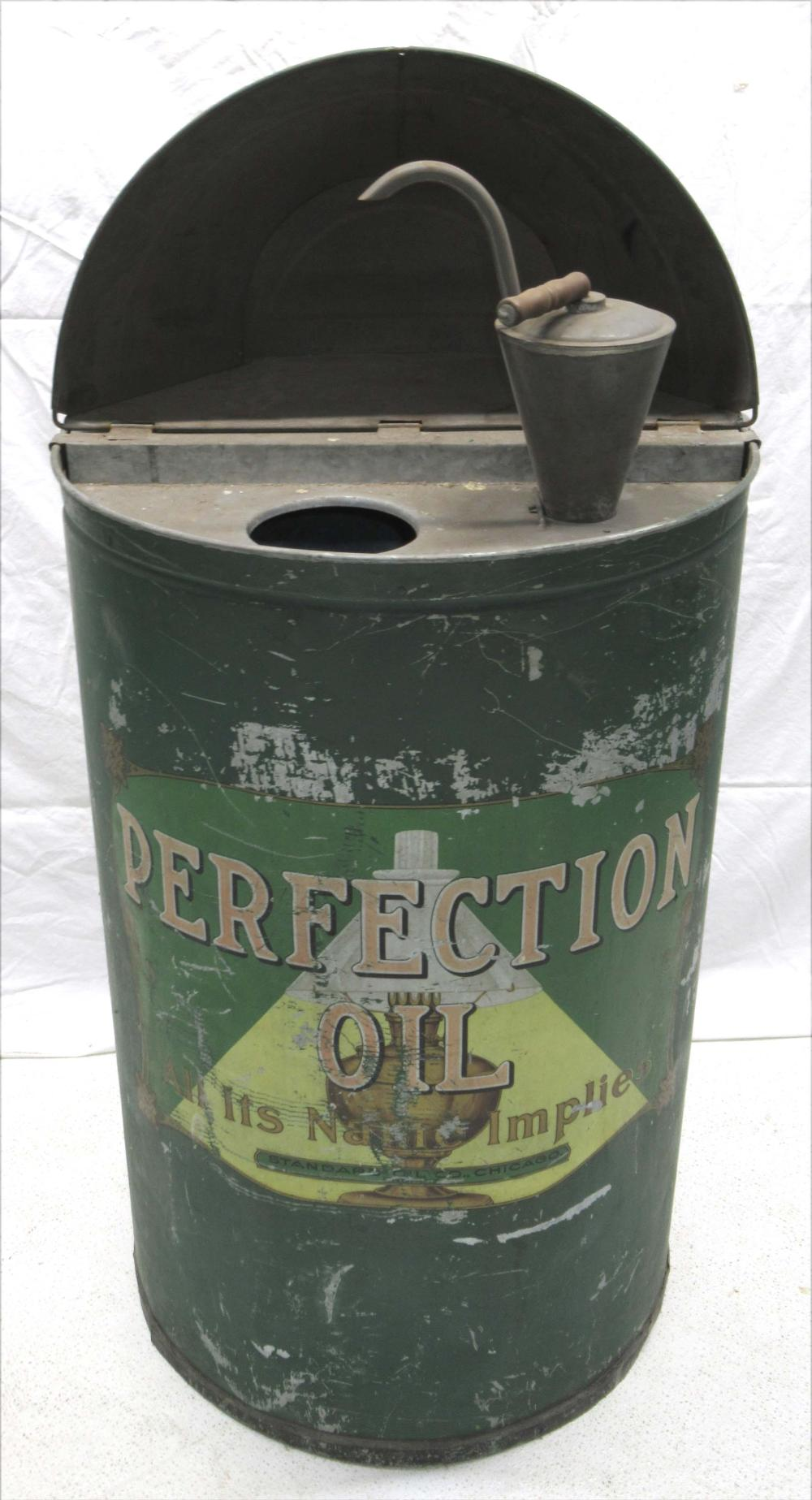 Perfection Oil Kerosene Barrel w/ Pump