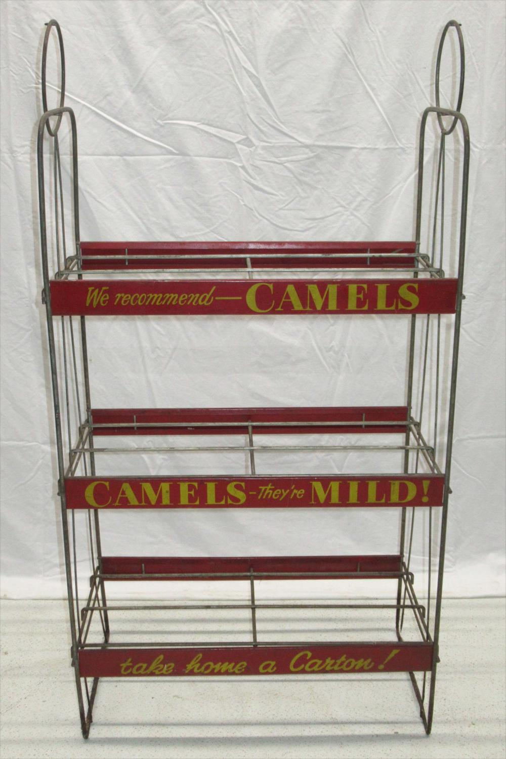 Camels Cigarette Rack