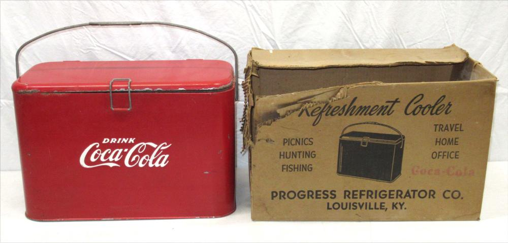 Coca Cola Cooler, Orig. Box