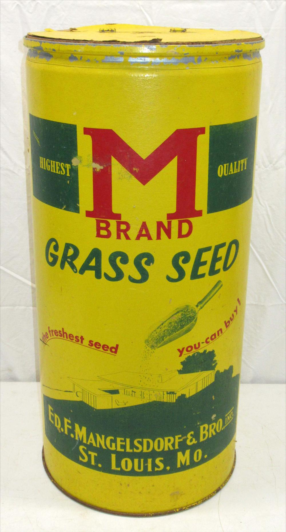 M Brand Glass Seed Barrel