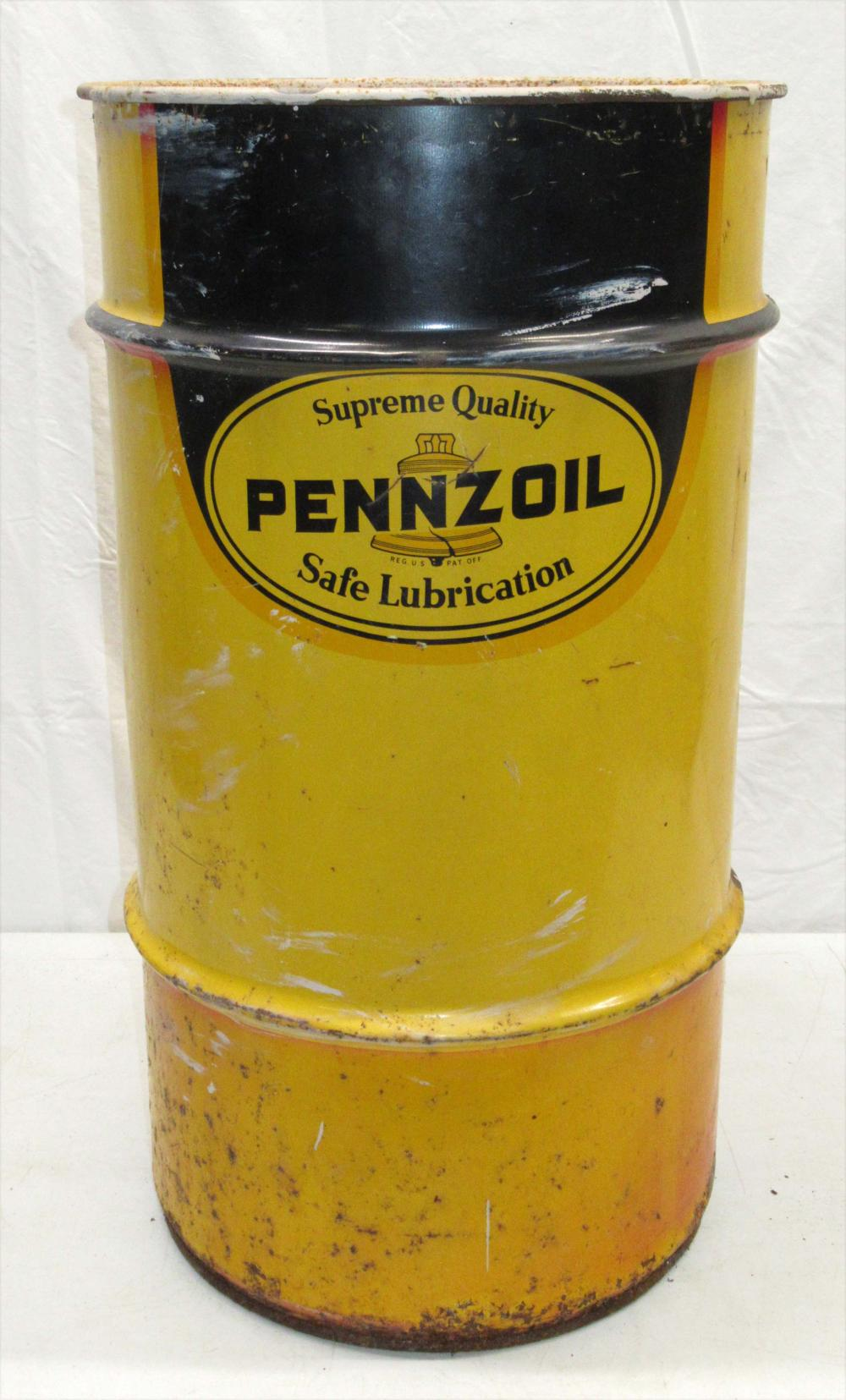 Pennzoil Lubrication Barrel