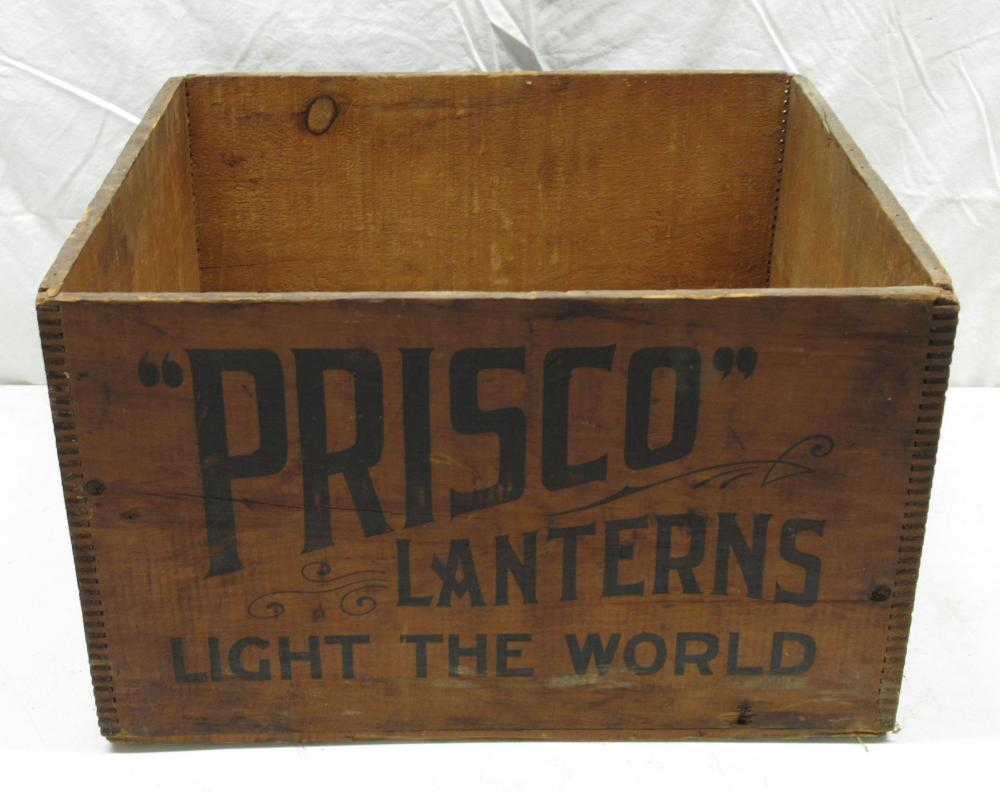 Prisco Lanterns Wooden Box