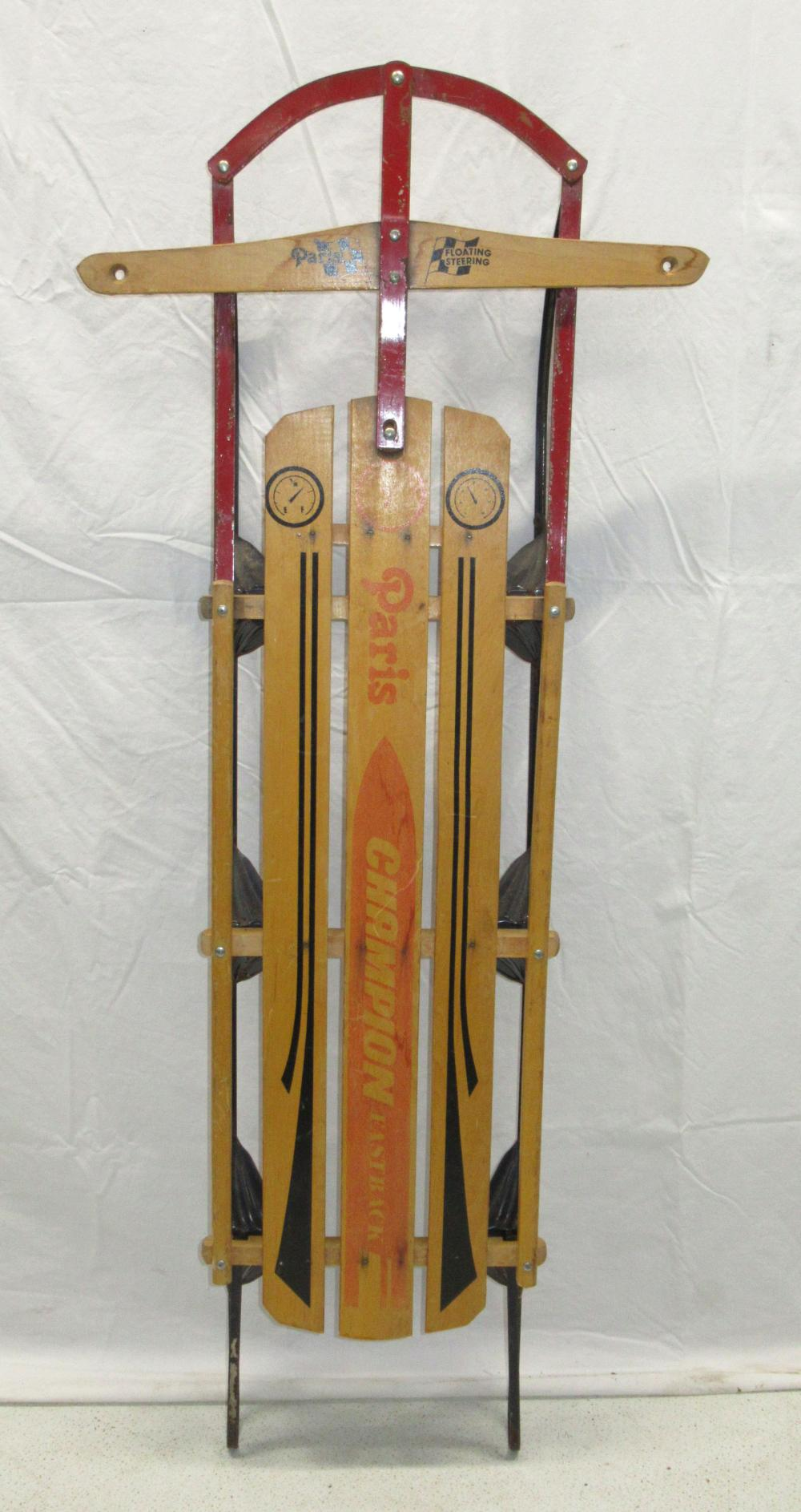 Paris Champion Sled