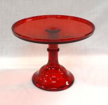 Ruby Red Cake Stand