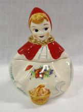Modern Red Riding Hood Cookie Jar